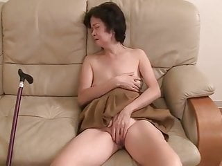 Japanese 70 Excellence Age-old Granny Gets Fucked Off Out Of One's Mind 2 Juvenile Men